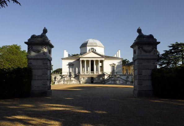 """<p>Designed by Richard Boyle, Earl of Burlington, and completed in 1729, <a href=""""https://chiswickhouseandgardens.org.uk/"""" target=""""_blank"""">Chiswick House</a> in west London is one of the finest surviving examples of Palladian-inspired architecture. With the design of his home, Lord Burlington sought to re-create an authentic Roman villa. Geometry and proportion reign supreme here, with use of the octagon, circle, and rectangle in its floor plan. The steeply pitched dome was inspired by the Pantheon in Rome.</p>"""