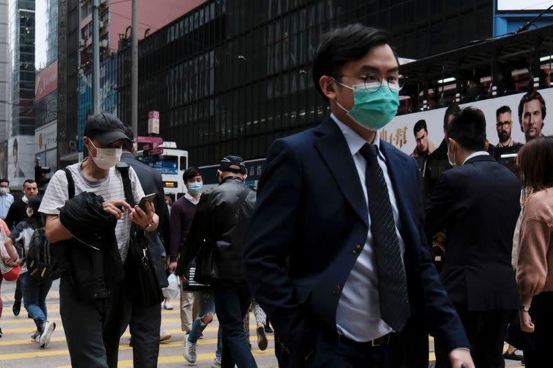 Hong Kong records fifth coronavirus death