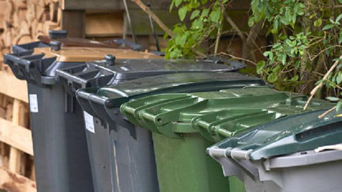 Ilustrasi tong sampah (iStock)