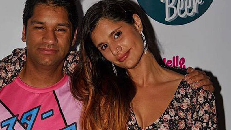 Serah Nathan (pictured with brother Sanjay) has slammed Jetstar's reponse to an airport incident as 'wildly inappropriate'. Photo: Supplied