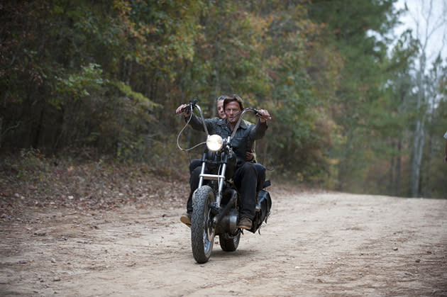 'Walking Dead' and Riding Living: Exclusive Sneak-Peek Photo