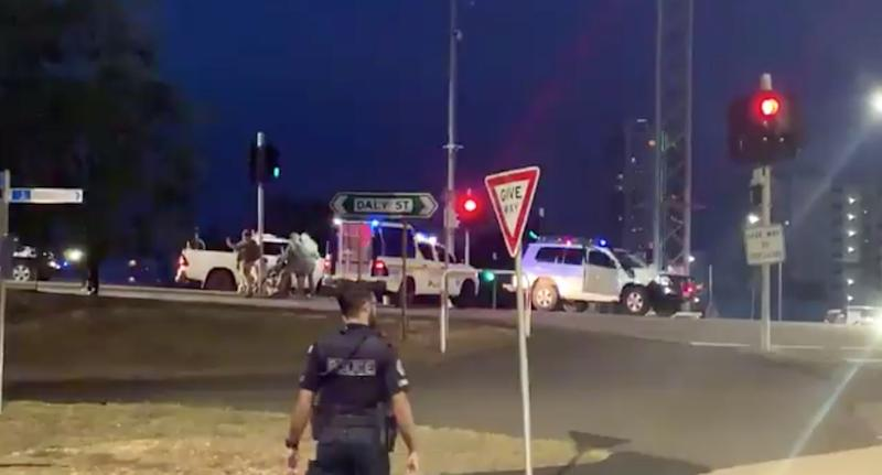 Man held after at least four killed in Darwin shooting