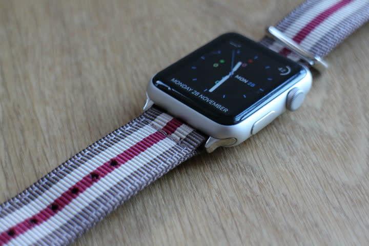 best Apple Watch bands Southern Straps Nato Strap side