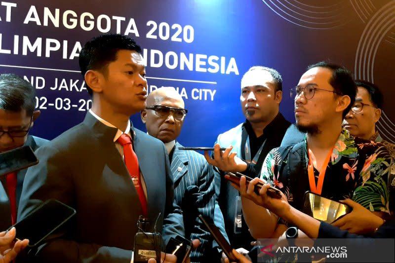 NOC Indonesia cari solusi program latihan sehat di tengah pandemi