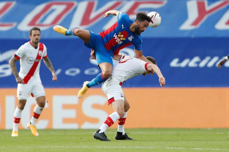 Palace begin with win as Zaha strike sinks Southampton