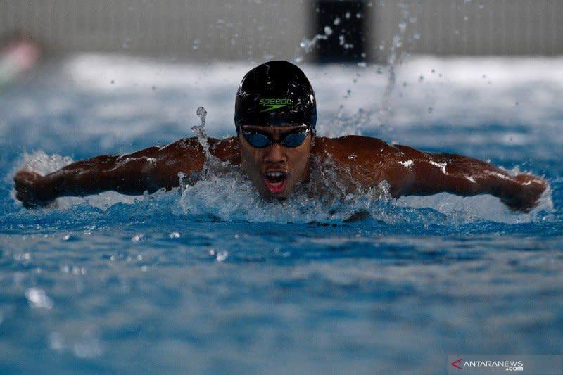 Medali renang perairan terbuka lepas dari tangan Indonesia