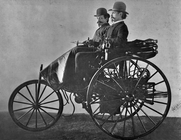 January 29: Karl Benz patents the first viable automobile on this date in 1886