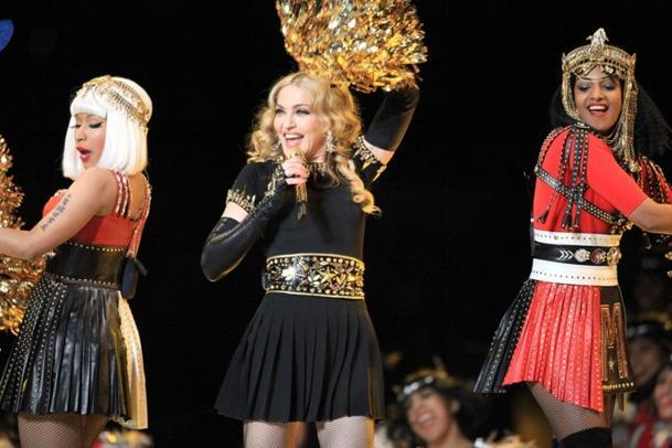 Madonna 'Surprised' by M.I.A. at Halftime Show