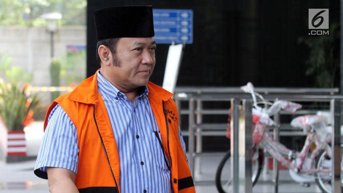 Kasasi Ditolak MA, KPK Eksekusi Zainuddin Hasan ke LP Bandar Lampung