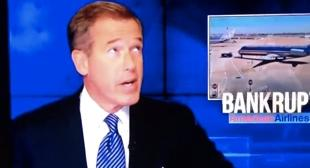 Brian Williams Gets Interrupted by 30 Rock Fire Drill