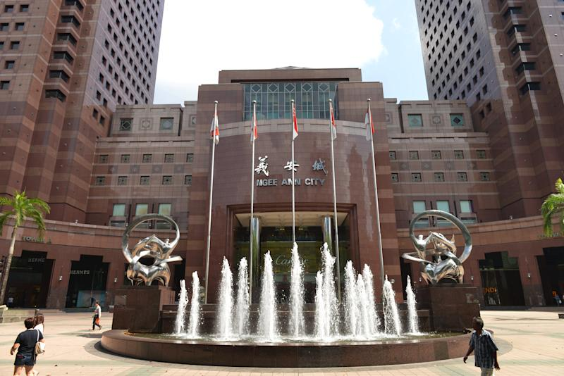 (GERMANY OUT) Ngee Ann City, Orchard Road, Singapur (Photo by Schöning/ullstein bild via Getty Images)