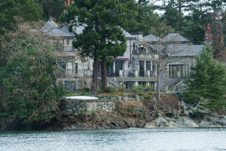 Harry and Meghan have retreated to a luxury mansion on Vancouver Island