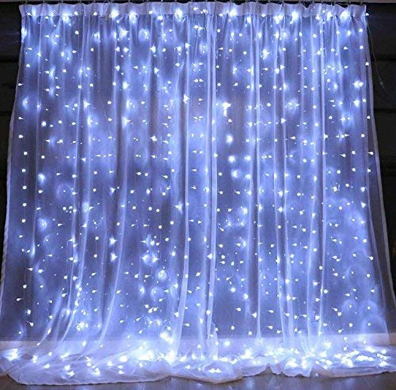 Brightown 10 Ft Window Curtain Icicle String Lights. (Photo: Amazon)
