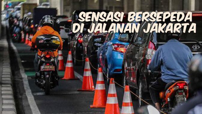 VIDEO: Sensasi Bersepeda di Jalanan Jakarta