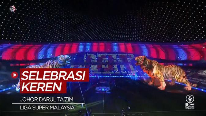 VIDEO: Canggihnya Selebrasi Juara Johor Darul Ta'zim di Liga Super Malaysia 2020