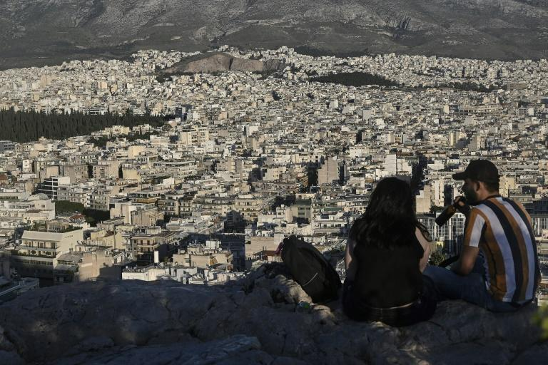 Owners of small apartments in the tourist Koukaki district of Athens, who had been renting them on Airbnb to provide income during the financial crisis, are once again struggling