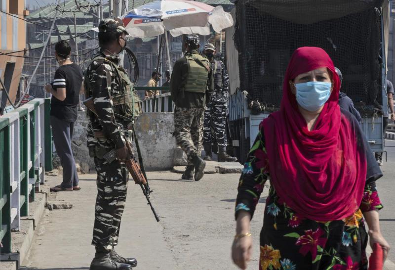 India Kashmir Exhumations