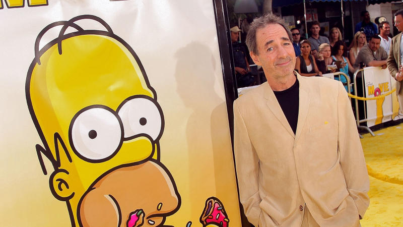 "Harry Shearer arrives at the Los Angeles premiere of ""The Simpsons Movie"" on July 24, 2007. (Photo by Kevin Winter/Getty Images)"