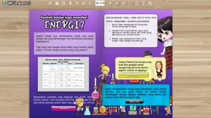 Salah satu karya yang dibuat peserta didik di SMP Tarakanita 2, Jakarta dalam metode pembelajaran Project Based Learning (Tangkapan Layar Video Dokumentasi SMP Tarakanita 2)