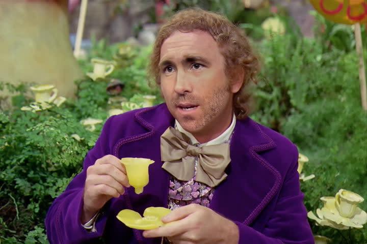Ryan Reynolds as Willy Wonka Deepfake from NextFace