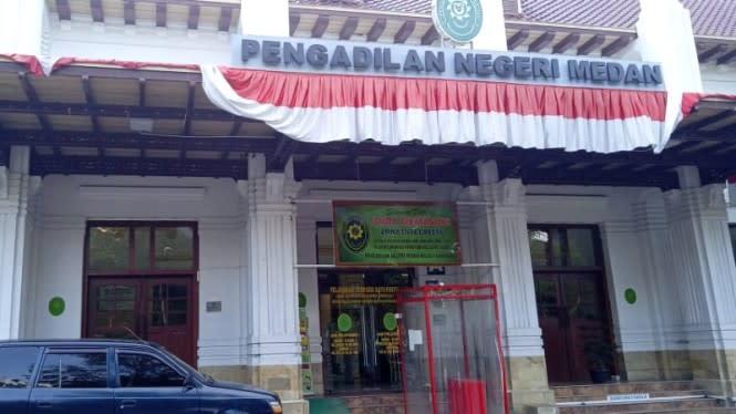 Ketua Pengadilan Negeri Medan Positif COVID-19