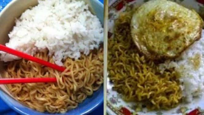 Jangan Konsumsi Mi Instan dengan Nasi, Ini Bahayanya