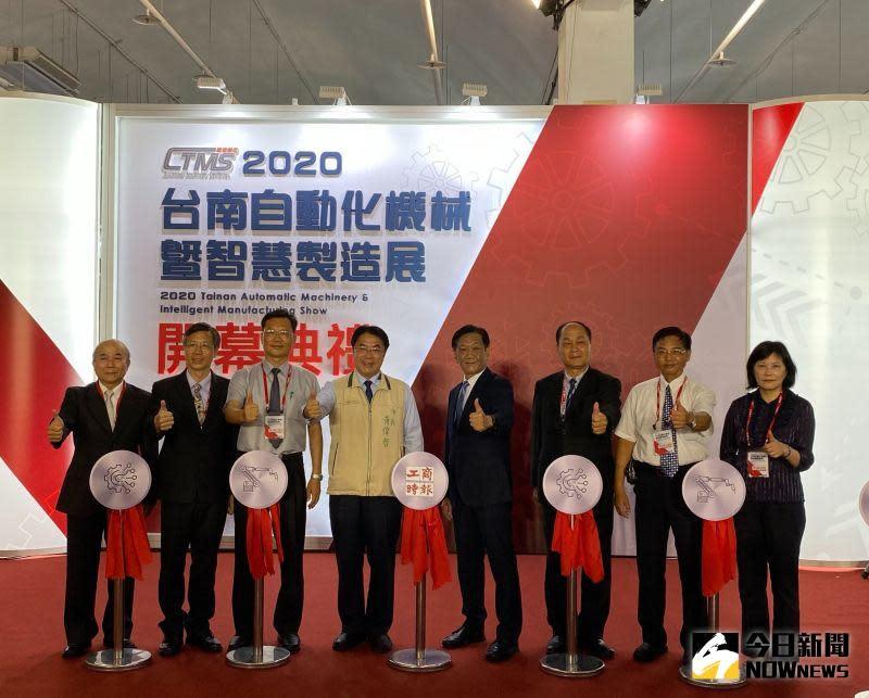 ▲2020台南自動化機械暨智慧製造展,是疫情解封後,全國第一檔大型B2B展覽盛會。(圖/記者陳聖璋攝,2020.07.02)