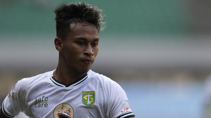 Gelandang Persebaya Surabaya, Osvaldo Haay. (Bola.com/Yoppy Renato)