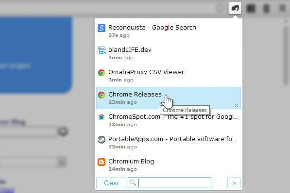Best Chromebooks apps: SimpleUndoClose