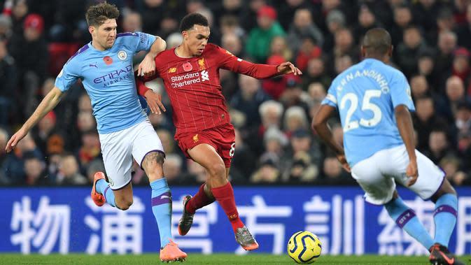 2 Sisi Kontras Setelah Pertandingan Liverpool Vs Manchester City