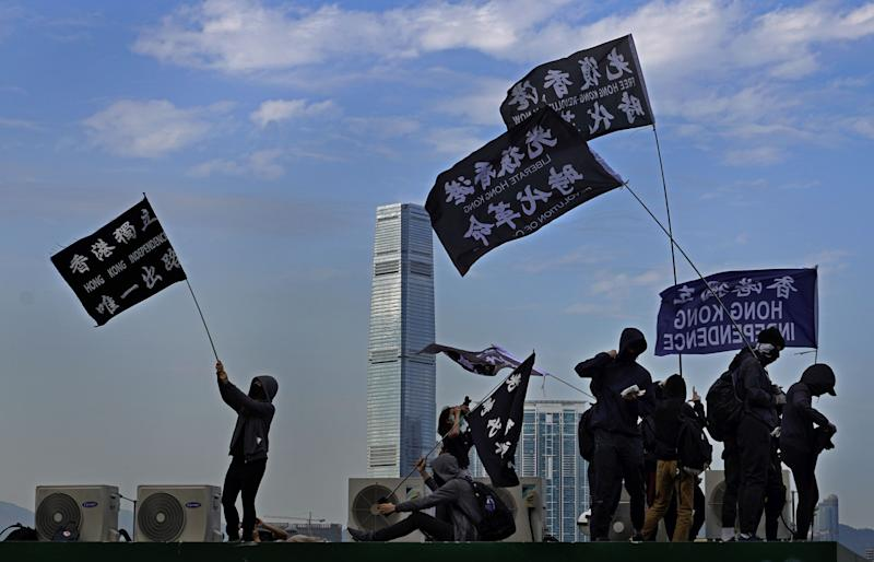 Unjuk rasa Hong Kong perjuangkan hak pemungutan suara dan dukungan internasional