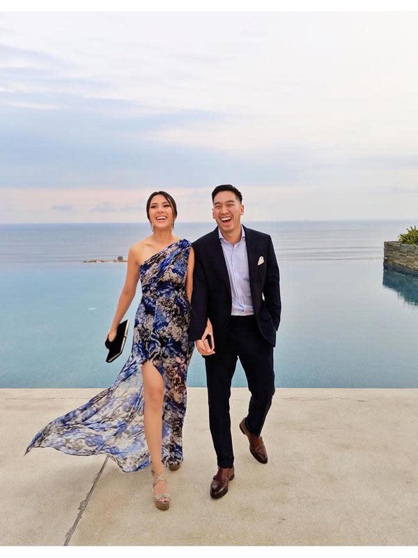 Momen Kebersamaan Vanny Istarinda dan Arya Bakrie yang Baru Resmi Lamaran (sumber:Instagram/vannya.istarinda)