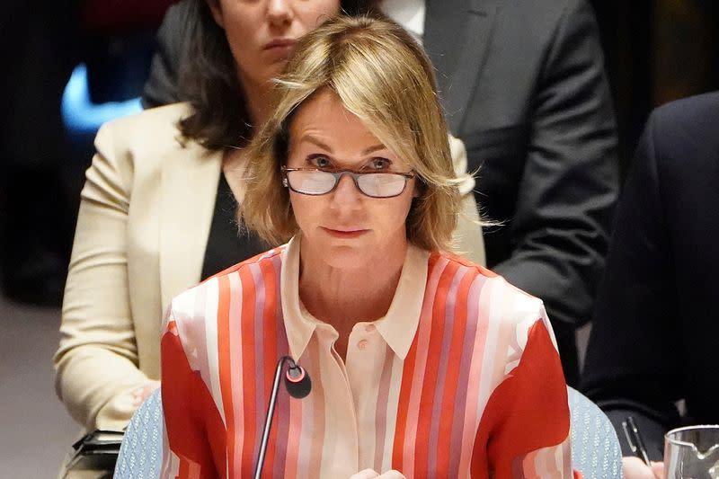 Dubes AS untuk PBB tolak kritik soal unjuk rasa