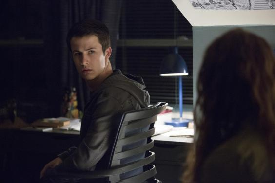 Clay, played by Dylan Minnette (Netflix)