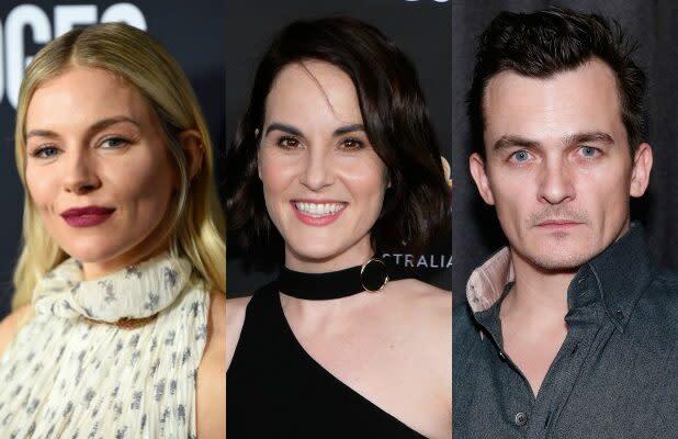 Sienna Miller, Michelle Dockery and Rupert Friend to Star on Netflix Series 'Anatomy of a Scandal'