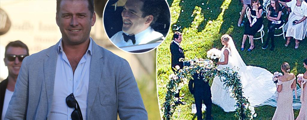 Sylvia Jeffreys & Peter Stefanovic's wedding celebrations