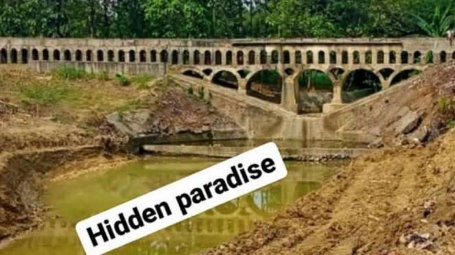 VIVA: Bangunan irigasi kuno peninggalan Belanda yang ditemukan TNI.