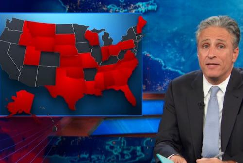 Jon Stewart on Evil Obamacare: Poor People Can Always Go to the ER!