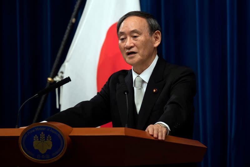 Japan PM tells U.N. Tokyo is determined to host Olympics next year