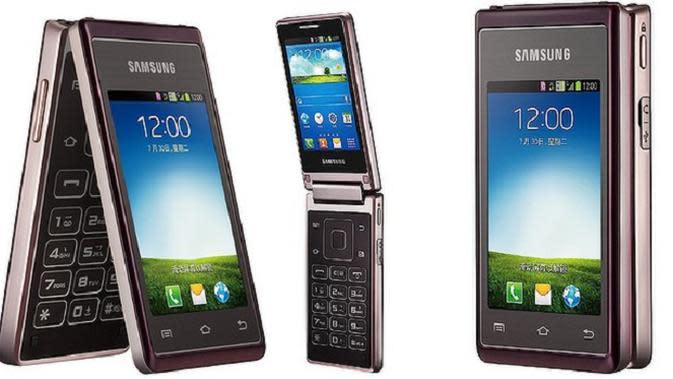 Setelah smartphone `lentur`, Samsung rupanya juga berniat meluncurkan seri smartphone flip terbaru dengan basis sistem operasi Android