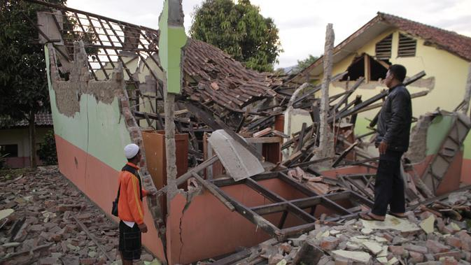 Cerita Nahas Korban Gempa Sukabumi, 30 Menit Tertimbun Reruntuhan Rumah