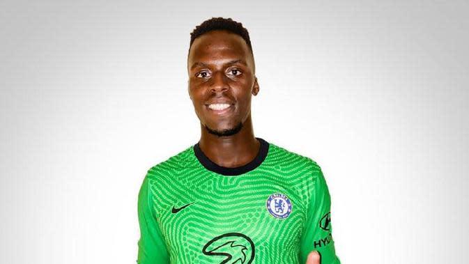Chelsea resmi mendatangkan Edouard Mendy dari Stade Rennes. (Twitter Chelsea)