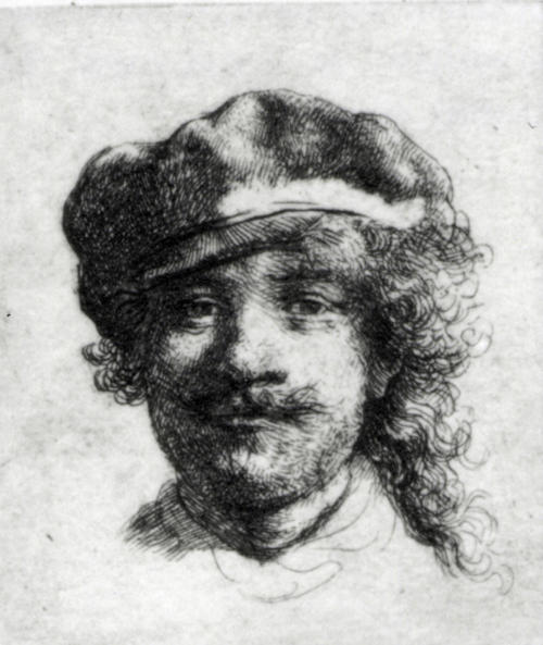 """FILE - This undated file photograph released by the Isabella Stewart Gardner Museum shows the etching """"Self-Portrait,"""" by Rembrandt, one of more than a dozen works of art stolen by burglars in the early hours of March 18, 1990.The FBI said Monday, March 18, 2013, it believes it knows the identities of the thieves who stole the art. Richard DesLauriers, the FBI's special agent in charge in Boston, says the thieves belong to a criminal organization based in New England the mid-Atlantic states. (AP Photo/Isabella Stewart Gardner Museum, File) NO SALES"""