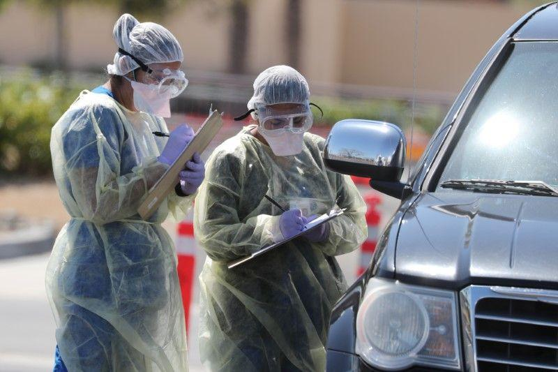 Pandemi corona bisa bunuh 81 ribu orang di AS