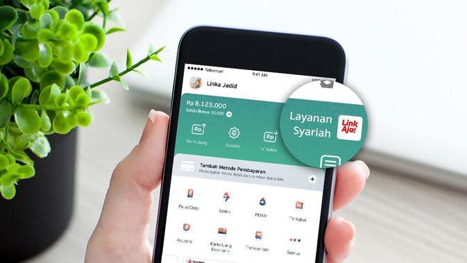 Layanan LinkAja Syariah (Foto: LinkAja)