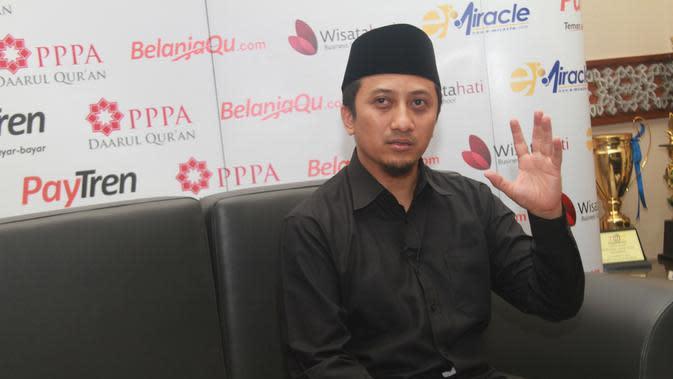 Terbaring di Rumah Sakit, Ustaz Yusuf Mansur: Minta Doa Buat Saya
