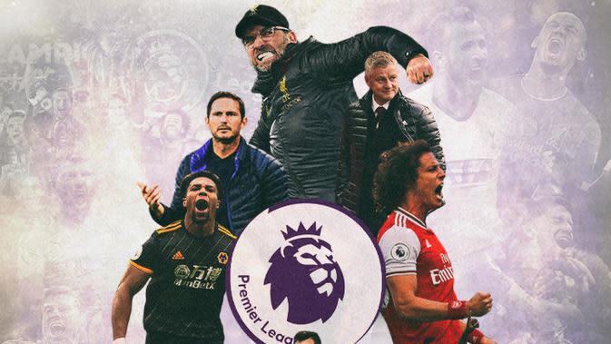 Premier League - Ilustrasi Klub Bersuka Cita di Pentas Premier League (Bola.com/Adreanus Titus)