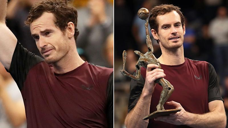 Andy Murray was full of emotion after winning the European Open.