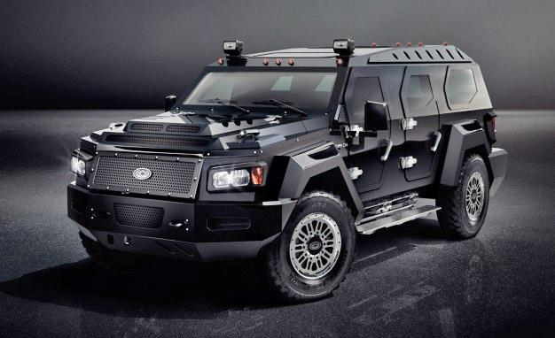 Conquest vehicles reveals the evade, its new, gigantic unarmored SUV
