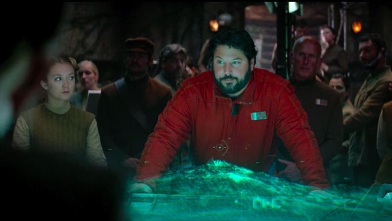 "Greg Grunberg as ""Snap"" Wexley in Star Wars: The Rise Of Skywalker (Image by Lucasfilm)"